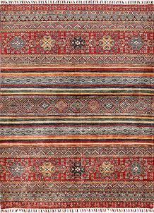 Multi Colored Kazak 5' 1 x 6' 9 - SKU 70886