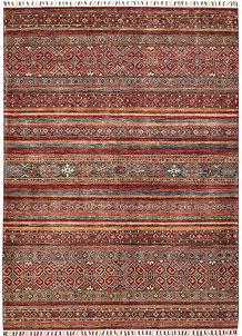Multi Colored Kazak 4' 10 x 6' 7 - SKU 70887