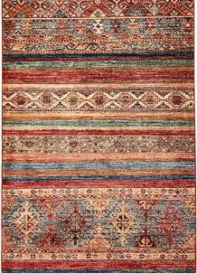 Multi Colored Kazak 2' 8 x 8' 6 - SKU 70895
