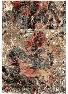 Multi Colored Abstract 6' 6 x 9' 6 - SKU 70911