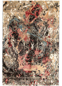 Multi Colored Abstract 6' 5 x 9' 8 - SKU 70913