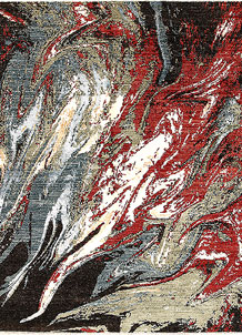Multi Colored Abstract 5' 8 x 7' 9 - SKU 70924