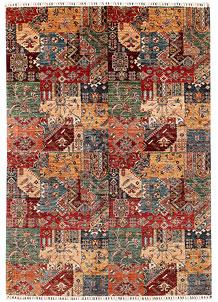 Multi Colored Kazak 6' 9 x 9' 7 - SKU 70974