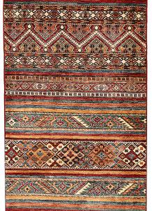 Multi Colored Kazak 2' 11 x 7' 10 - SKU 71001