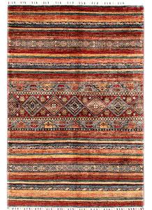 Multi Colored Kazak 4' 11 x 7' - SKU 71009