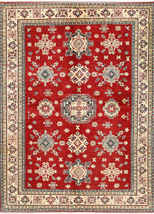 Firebrick Kazak 6' 8 x 9' 4 - SKU 71026