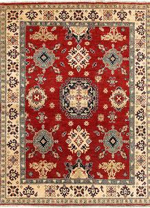 Firebrick Kazak 4' 11 x 6' 7 - SKU 71030