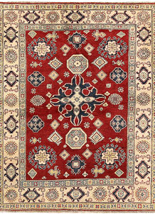 Firebrick Kazak 5' 1 x 6' 7 - SKU 71043