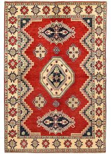 Firebrick Kazak 6' 6 x 9' 7 - SKU 71090