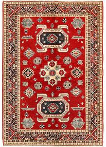 Firebrick Kazak 6' 8 x 9' 6 - SKU 71094