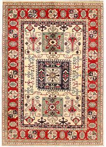 Cornsilk Kazak 6' 5 x 9' 1 - SKU 71103