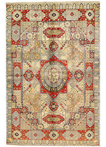 Multi Colored Mamluk 5' 10 x 8' 9 - SKU 71108