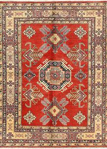 Brown Kazak 5' 6 x 7' 3 - SKU 71110