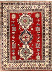 Firebrick Kazak 5' 1 x 6' 9 - SKU 71126