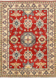 Red Kazak 4' 11 x 6' 7 - SKU 71133