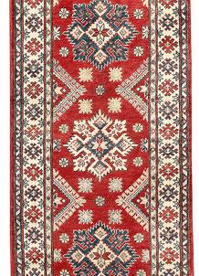 Red Kazak 2' 8 x 9' 10 - SKU 71160