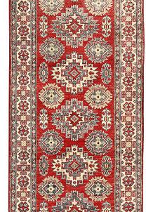 Firebrick Kazak 2' 7 x 12' 8 - SKU 71172