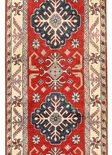 Red Kazak 2' 6 x 16' 6 - SKU 71173
