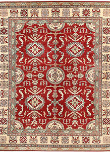 Firebrick Kazak 8' x 10' - SKU 71176