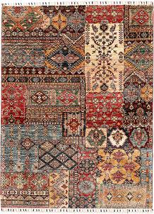Multi Colored Kazak 4' 11 x 6' 8 - SKU 71182