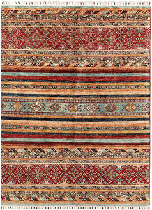 Multi Colored Kazak 5' x 6' 10 - SKU 71184