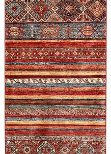 Multi Colored Kazak 2' 7 x 9' 7 - SKU 71185