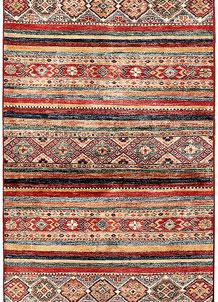 Multi Colored Kazak 2' 7 x 6' 6 - SKU 71187