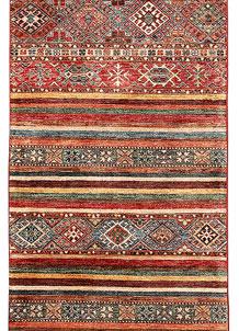 Multi Colored Kazak 2' 8 x 7' 11 - SKU 71188