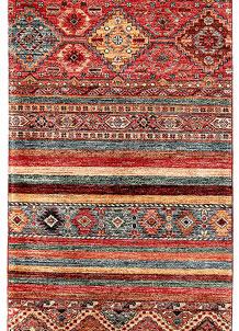 Multi Colored Kazak 2' 9 x 9' 7 - SKU 71189
