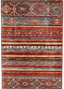 Multi Colored Kazak 2' 8 x 9' 7 - SKU 71191