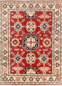 Red Kazak 5' 1 x 6' 9 - SKU 71218