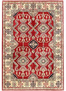 Red Kazak 4' 10 x 6' 11 - SKU 71222