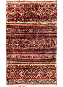 Multi Colored Kazak 4' 10 x 6' 8 - SKU 71230
