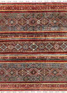 Multi Colored Kazak 5' 1 x 6' 4 - SKU 71231