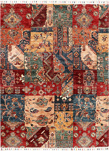 Multi Colored Kazak 4' 11 x 6' 7 - SKU 71239