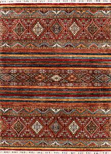 Multi Colored Kazak 5' 1 x 6' 6 - SKU 71247