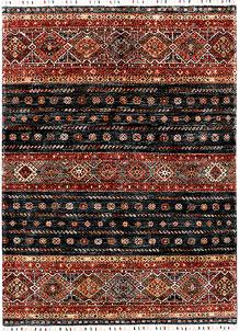 Multi Colored Kazak 4' 10 x 6' 8 - SKU 71255