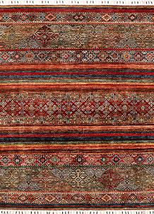 Multi Colored Kazak 5' x 6' 2 - SKU 71257
