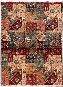 Multi Colored Kazak 4' 10 x 6' 4 - SKU 71258