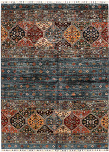 Multi Colored Kazak 5' 5 x 7' 9 - SKU 71259