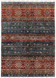Multi Colored Kazak 5' 9 x 8' - SKU 71260