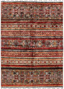 Multi Colored Kazak 5' 8 x 7' 10 - SKU 71264