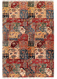 Multi Colored Kazak 6' 8 x 9' 9 - SKU 71269