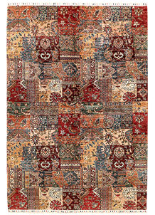 Multi Colored Kazak 6' 8 x 9' 7 - SKU 71270
