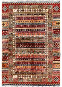 Multi Colored Kazak 6' 9 x 9' 7 - SKU 71272