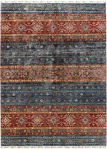 Multi Colored Kazak 6' 11 x 9' 7 - SKU 71274
