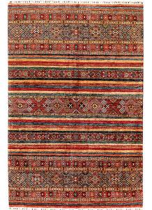 Multi Colored Kazak 6' 8 x 10' 1 - SKU 71275