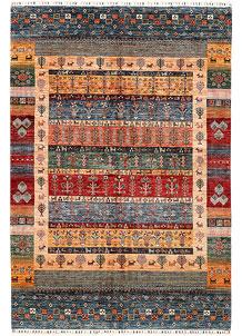 Multi Colored Kazak 6' 11 x 10' - SKU 71276