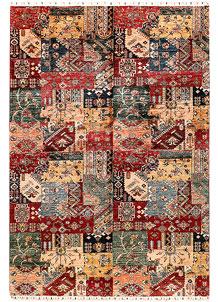 Multi Colored Kazak 6' 9 x 9' 11 - SKU 71278
