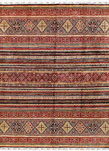 Multi Colored Kazak 8' 1 x 10' 7 - SKU 71284